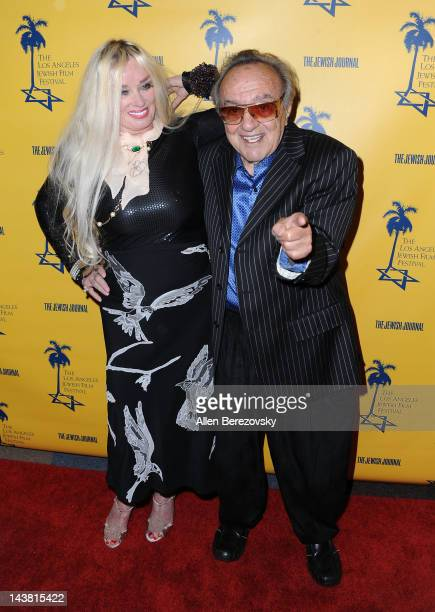 Actress Mamie Van Doren and actor George Barris attend the Tony Curtis Driven To Stardom opening night premiere during the 7th Annual Los Angeles...