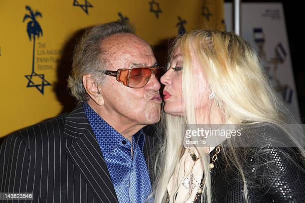 Actress Mamie Van Doren and custom car designer George Barris attend 7th Annual Los Angeles Jewish Film Festival Tony Curtis Driven To Stardom...