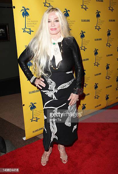 Actress Mamie Van Doren attends 7th Annual Los Angeles Jewish Film Festival Tony Curtis Driven To Stardom opening night premiere at Saban Theatre on...