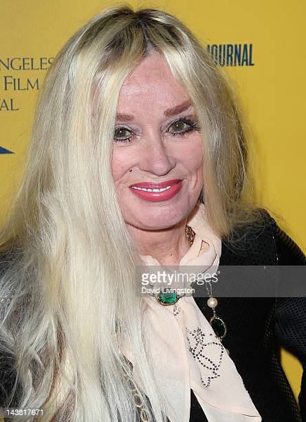 Actress Mamie Van Doren attends the 7th Annual Los Angeles Jewish Film Festival Premiere of Tony Curtis Driven to Stardom at the Writers Guild...