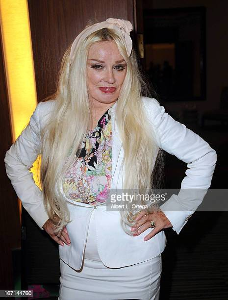 Actress Mamie Van Doren attends The Hollywood Show held at Westin LAX Hotel on April 20 2013 in Los Angeles California