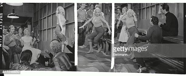 Actress Mamie Van Doren not only sings for the first time in her new film Untamed Youth but performs a rather sexy Rock 'N Roll dance some of which...