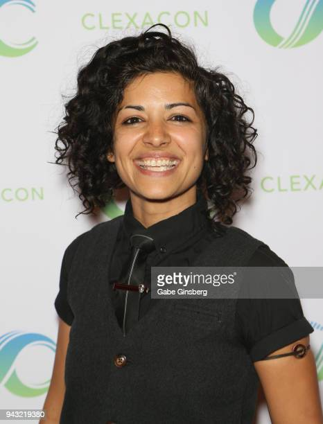 Actress Mandahla Rose attends the Cocktails for Change fundraiser hosted by ClexaCon to benefit Cyndi Lauper's True Colors Fund at the Tropicana Las...
