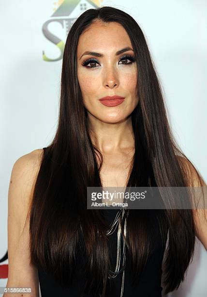 Actress Mandy Amano arrives for the Premiere Of JR Productions' Halloweed held at TCL Chinese 6 Theatres on March 15 2016 in Hollywood California
