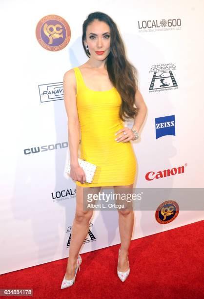Actress Mandy Amano at the 2017 Society Of Camera Operators Awards held at Loews Hollywood Hotel on February 11 2017 in Hollywood California