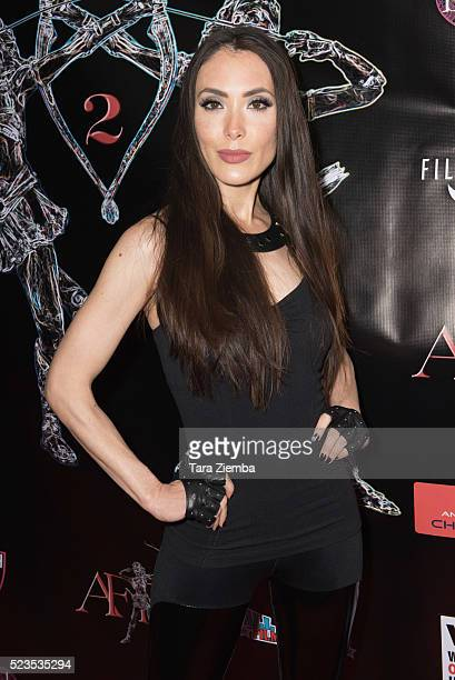 Actress Mandy Amano attends the 2nd Annual Artemis Film FestivalRed Carpet Opening Night/Awards Presentaion at Ahrya Fine Arts Movie Theater on April...