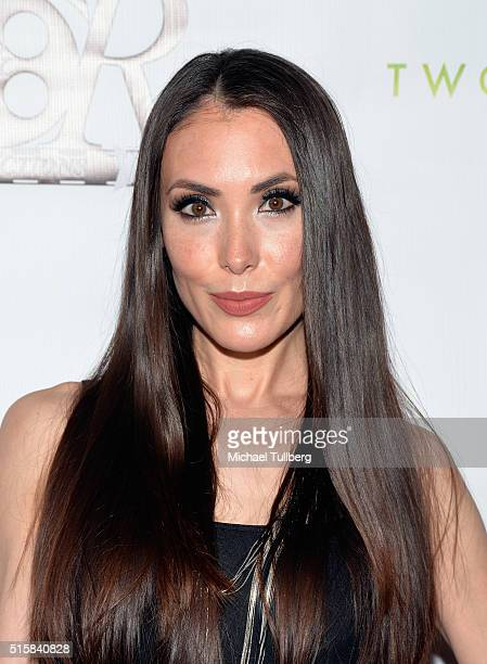Actress Mandy Amano attends the premiere of JR Productions' Halloweed at TCL Chinese 6 Theatres on March 15 2016 in Hollywood California