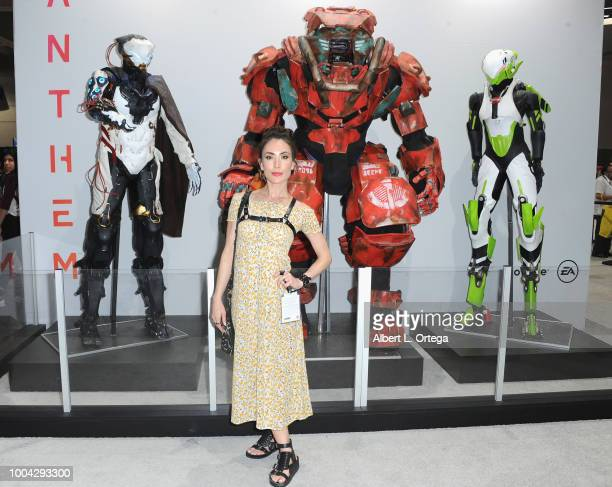 Actress Mandy Amano on Sunday day 4 of 2018 ComicCon International held at the San Diego Convention Center on July 22 2018 in San Diego California