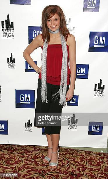 Actress Mandy Bruno attends the New York Women in Film and Television's 26th annual Muse Awards on December 14 2006 in New York City
