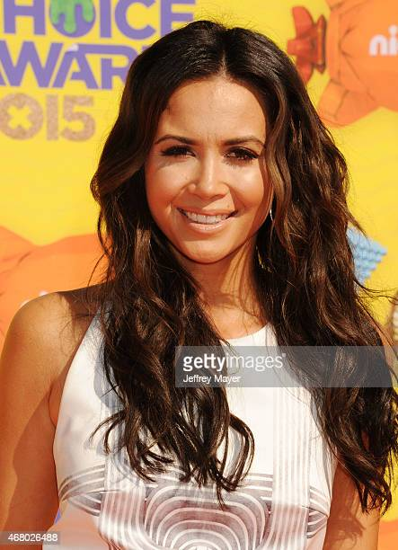 Actress Mandy Capristo attends Nickelodeon's 28th Annual Kids' Choice Awards held at The Forum on March 28 2015 in Inglewood California