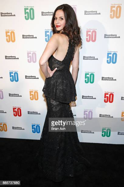 Actress Mandy Gonzalez attends 'The Bloomberg 50' Celebration at Gotham Hall on December 4 2017 in New York City