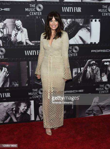 Actress Mandy Moore arrives at JONI 75 A Birthday Celebration Live at the Dorothy Chandler Pavilion on November 7 2018 in Los Angeles California