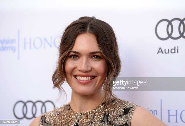 Actress Mandy Moore arrives at the 10th Annual Television Academy Honors at the Montage Beverly Hills on June 8 2017 in Beverly Hills California