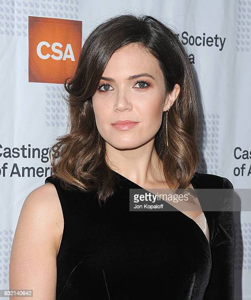 Actress Mandy Moore arrives at the 2017 Annual Artios Awards at The Beverly Hilton Hotel on January 19 2017 in Beverly Hills California