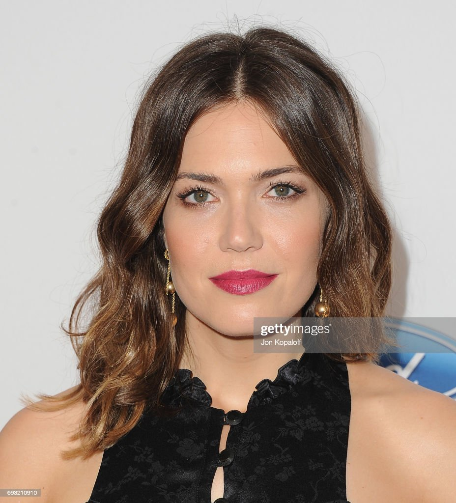 Actress Mandy Moore arrives at the 42nd Annual Gracie Awards at the Beverly Wilshire Four Seasons Hotel on June 6, 2017 in Beverly Hills, California.