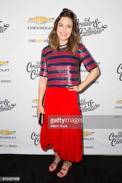 Actress Many Moore attends Create Cultivate and Chevrolet Host Create Cultivate 100 on January 25 2018 in Culver City California