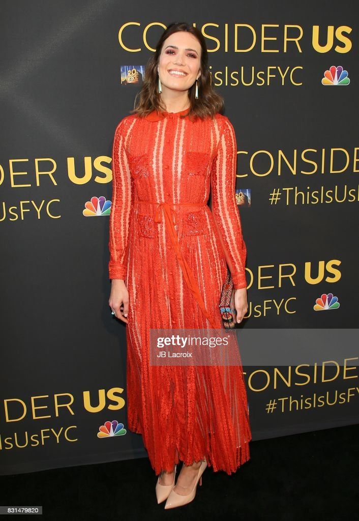 Actress Mandy Moore attends FYC Panel Event for 20th Century Fox and NBC's 'This Is Us' at Paramount Studios on August 14, 2017 in Hollywood, California.