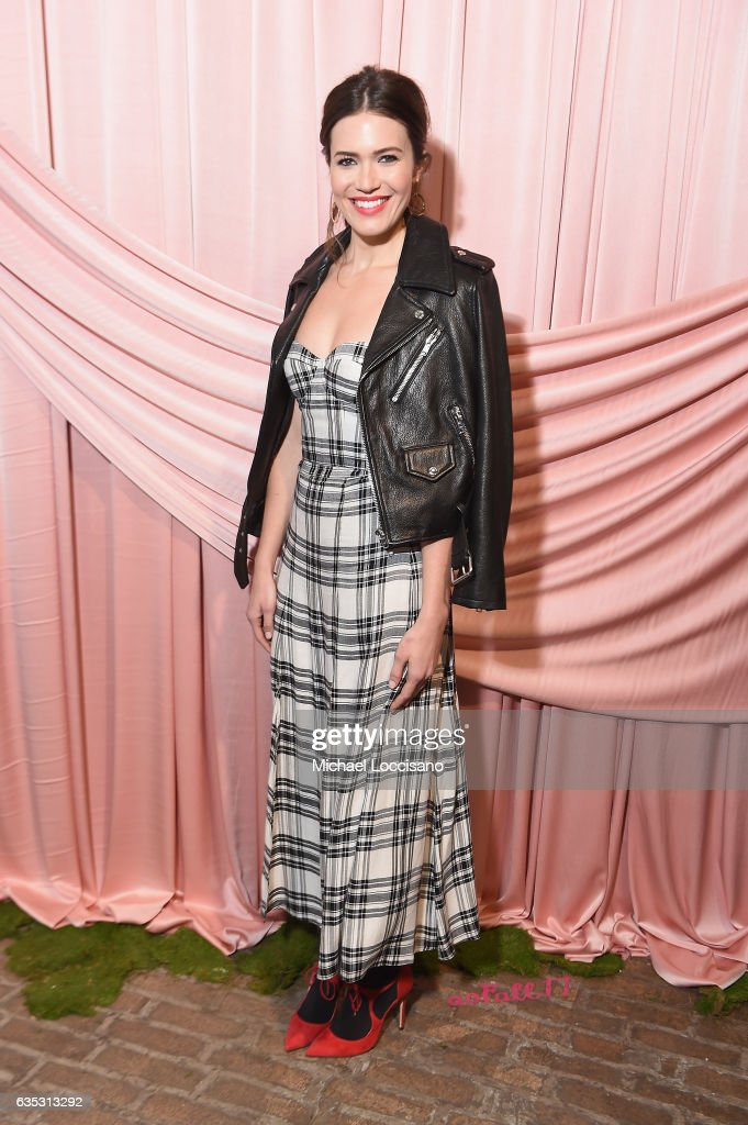 Actress Mandy Moore attends the alice + olivia by Stacey Bendet Fall 2017 Presentation at Highline Stages on February 14, 2017 in New York City.