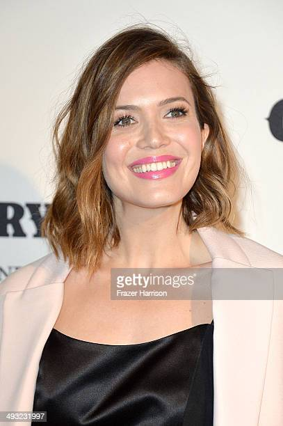 Actress Mandy Moore attends the Annenberg Space for Photography Opening Celebration for Country Portraits of an American Sound at the Annenberg Space...