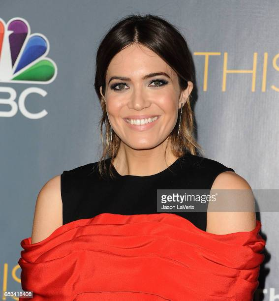 Actress Mandy Moore attends the finale screening of 'This Is Us' at Directors Guild Of America on March 14 2017 in Los Angeles California