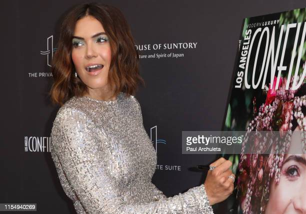 Actress Mandy Moore attends the Los Angeles Confidential Magazine Impact Awards at The Line Hotel on June 09, 2019 in Los Angeles, California.