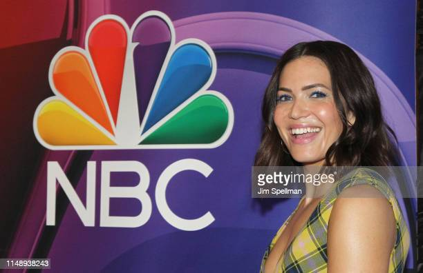 Actress Mandy Moore attends the NBC 2019/20 Upfront at Four Seasons Hotel New York on May 13 2019 in New York City