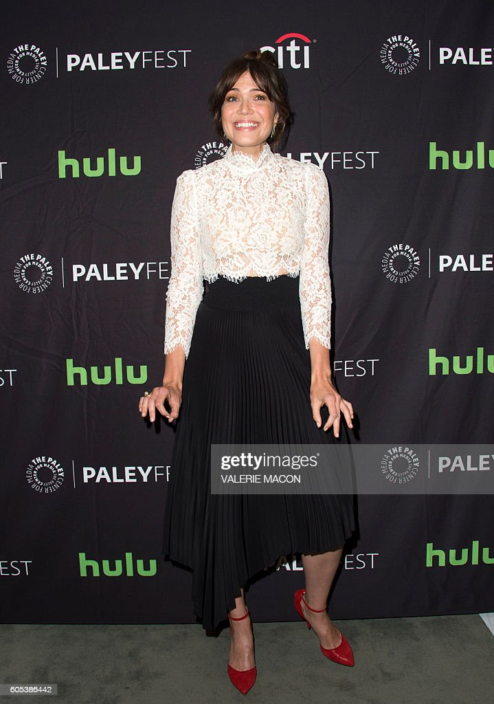 Actress Mandy Moore attends The screening of NBC