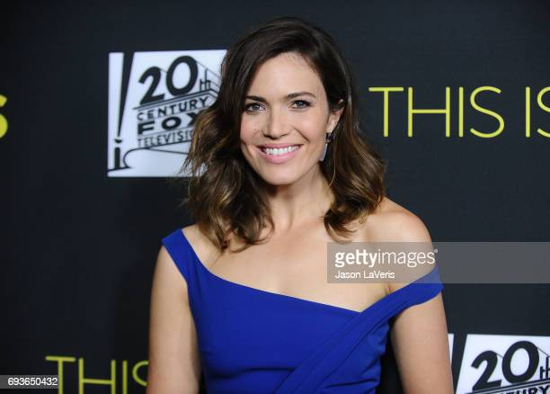 Actress Mandy Moore attends the 'This Is Us' FYC screening and panel at The Cinerama Dome on June 7 2017 in Los Angeles California