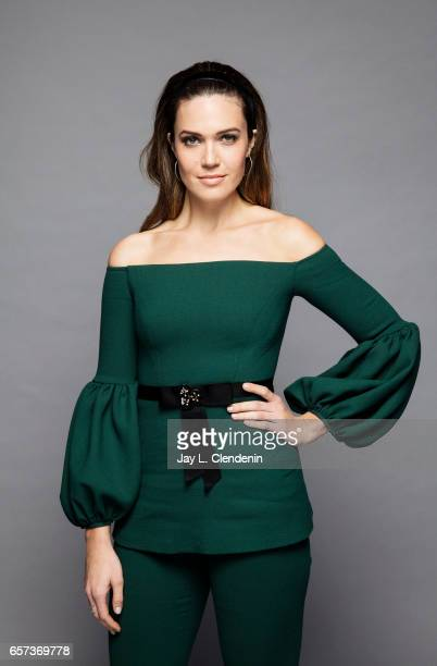 Actress Mandy Moore from NBC's 'This is Us' is photographed at Paley Fest for Los Angeles Times on March 18 2017 in Los Angeles California PUBLISHED...