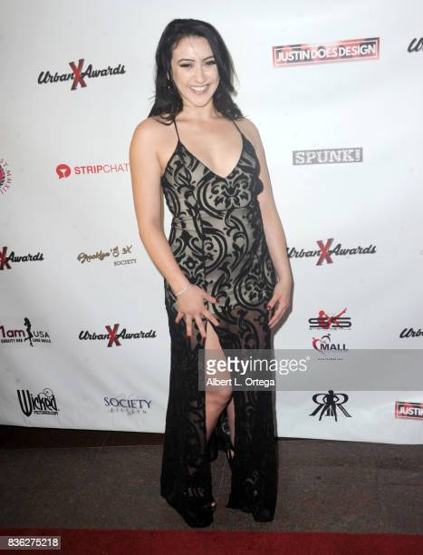 Actress Mandy Muse arrives for the 6th Urban X Awards held at Stars On Brand on August 20 2017 in Glendale California