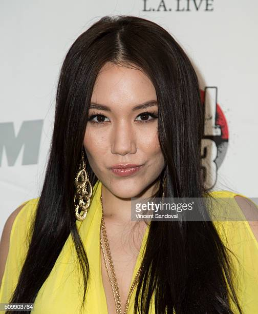 Actress Manika Ward attends Alt 987 1027 KIIS FM and REAL 923 Celebrate The 2016 GRAMMY Awards at The Mixing Room at the JW Marriot Los Angeles on...