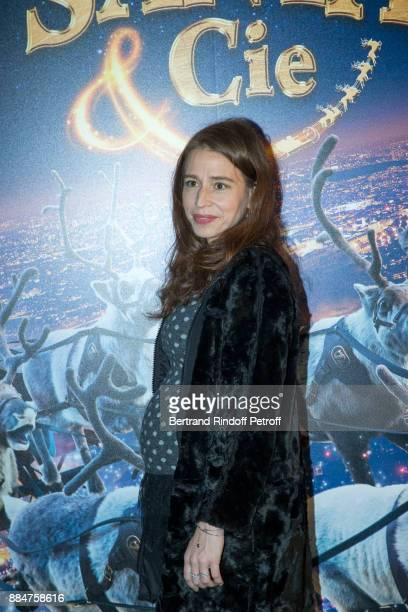 Actress Manon Azem attends 'Santa Cie' Paris Premiere at Cinema Pathe Beaugrenelle on December 3 2017 in Paris France