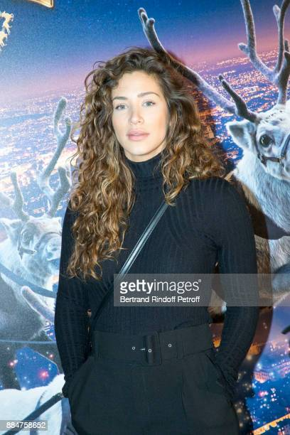 Actress Manon Azem attends Santa Cie Paris Premiere at Cinema Pathe Beaugrenelle on December 3 2017 in Paris France