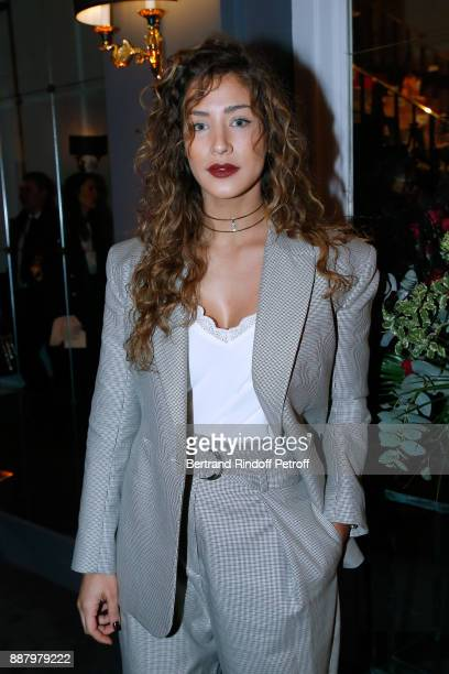 Actress Manon Azem attends the Annual Charity Dinner hosted by the AEM Association Children of the World for Rwanda at Pavillon Ledoyen on December 7...