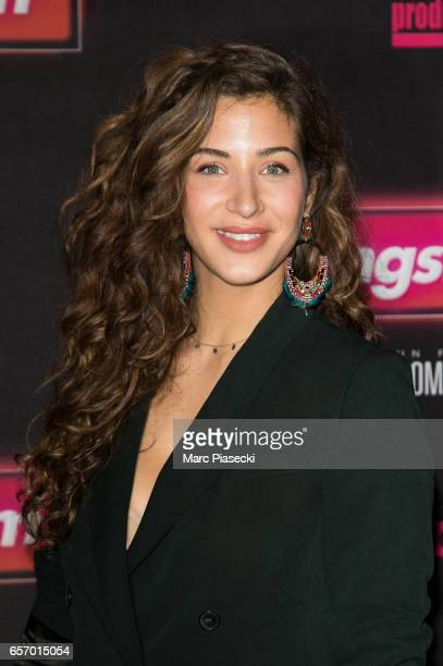 Actress Manon Azem attends the 'Gangsterdam' Premiere at Le Grand Rex on March 23 2017 in Paris France