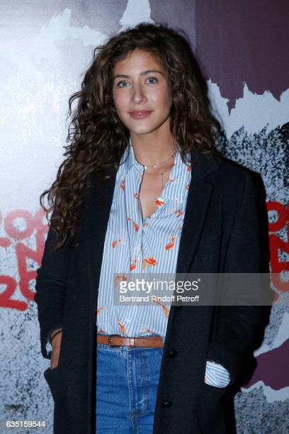 Actress Manon Azem attends the Rock'N Roll Premiere at Cinema Pathe Beaugrenelle on February 13 2017 in Paris France