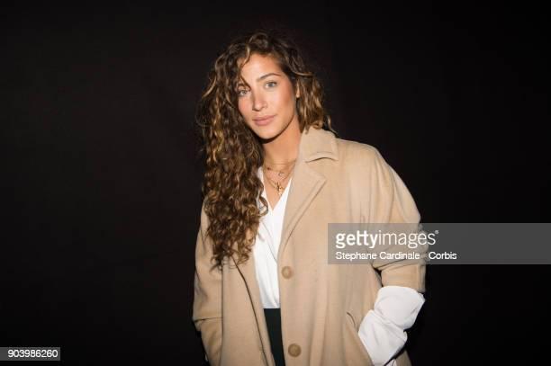 Actress Manon Azem attends the Vendorama Exhibition Boucheron Celebrates Its 160 Anniversary at Monnaie de Paris on January 11 2018 in Paris France