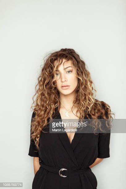 Actress Manon Azem poses for a portrait on February 2018 in Paris France