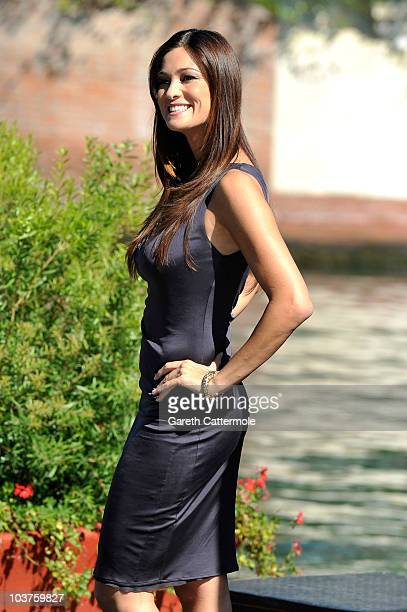 Actress Manuela Arcuri attends the 67th Venice Film Festival on September 1 2010 in Venice Italy