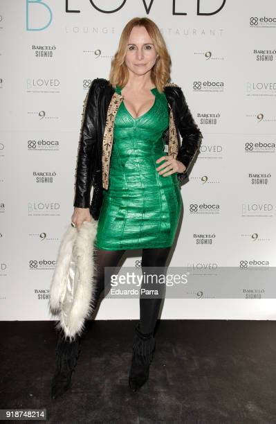 Actress Mar Regueras attends the 'BLoved' restaurant opening photocall at Catalonia hotel on February 15 2018 in Madrid Spain