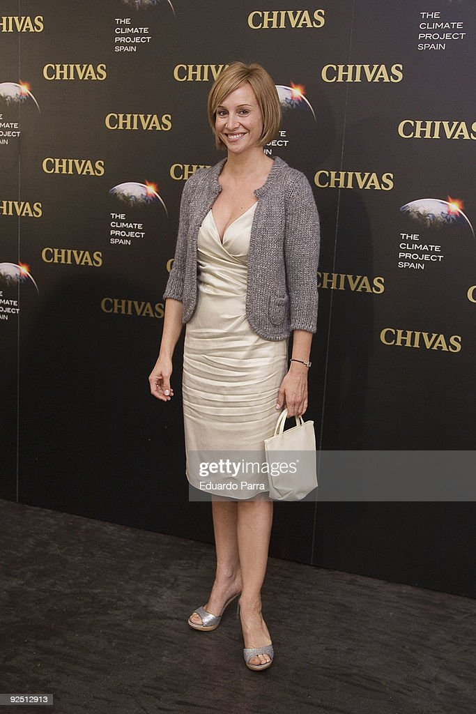 Actress Mar Regueras attends The Climate Project photocall at Chivas Studio on October 29, 2009 in Madrid, Spain.