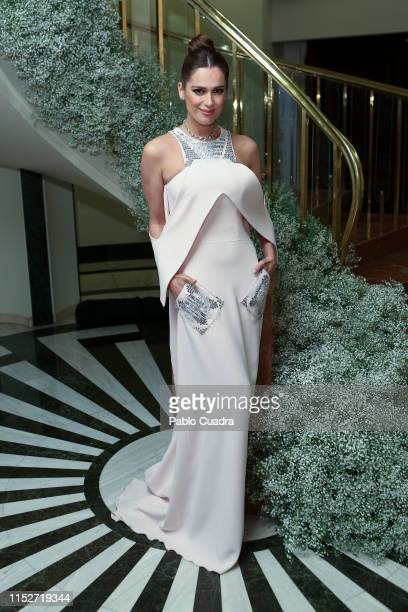 Actress Mar Saura attends ELLE Charity Gala 2019 to raise funds for cancer at Intercontinental Hotel on May 30 2019 in Madrid Spain