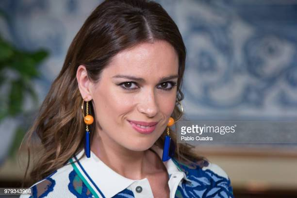 Actress Mar Saura attends the 'El Mundo Es Suyo' photocall at La Giralda Restaurant on June 20 2018 in Madrid Spain