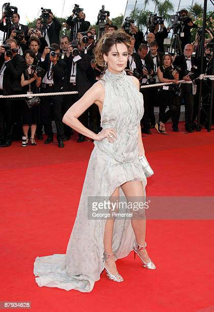 """Actress Mar Saura attends """"The Imaginarium of Doctor Parnassus"""" premiere at the Palais De Festivals during the 62nd Annual Cannes Film Festival on..."""