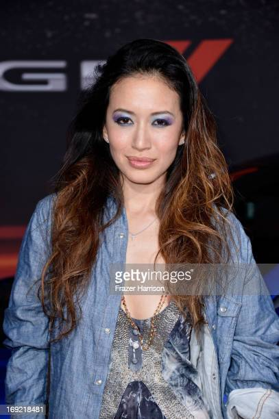 Actress Mara Lane arrives at the Premiere Of Universal Pictures' Fast Furious 6 on May 21 2013 in Universal City California