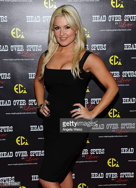Actress Mara Marini arrives at the world premiere of 'Head Over Spurs In Love' at Majestic Crest Theatre on March 24, 2011 in Los Angeles, California.