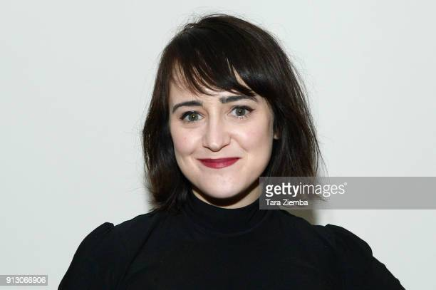 Actress Mara Wilson attends The Secret Society Of The Sisterhood at The Masonic Lodge at Hollywood Forever on January 31, 2018 in Los Angeles,...