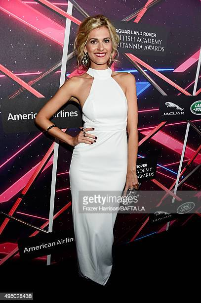 Actress Marah Fairclough attends the 2015 Jaguar Land Rover British Academy Britannia Awards presented by American Airlines at The Beverly Hilton...