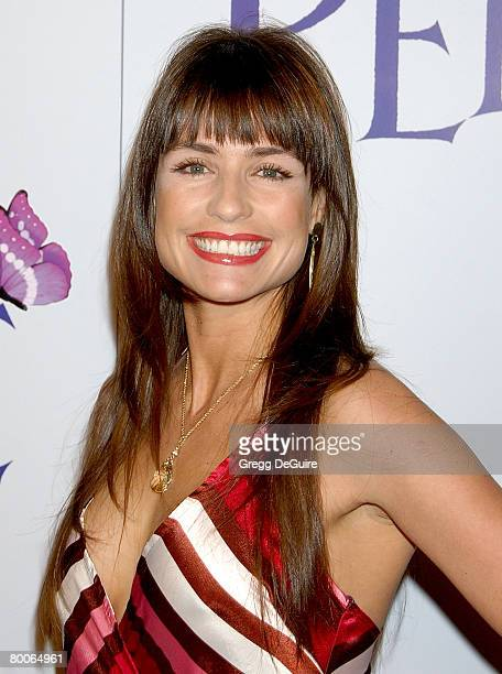 Actress Marcela Mar arrives at the Penelope premiere at the Directors Guild of America Theater on February 20 2008 in West Hollywood California