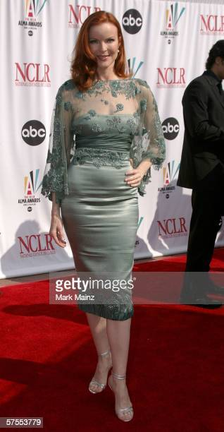 Actress Marcia Cross arrives at the 2006 NCLR ALMA Awards at the Shrine Auditorium on May 7 2006 in Los Angeles California
